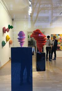 EILERGERHARD Skulptur + KÖHLER Malerei